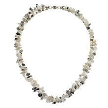 2014 trendy natural stone multi layer bead necklace