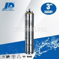 Stainless steel micro submersible motor water pump