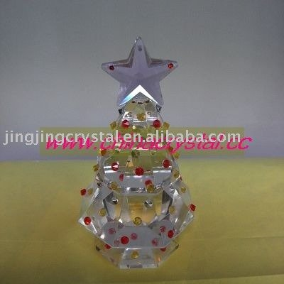 crystal christmas tree crystal gift in china
