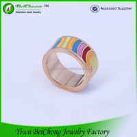 Factory new design cheap wholesale men stainless steel cock ring