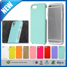 C&T Whole lastest fashionable design mobile phone cover hybrid case for iphone 6