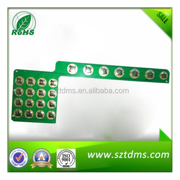 Metal Dome Membrane Switch PCB Keyboard