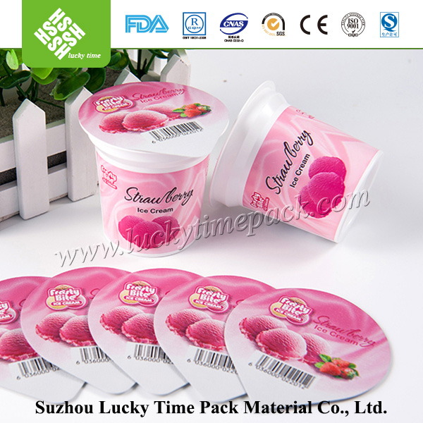 Heat Resistance PP Plastic Cup for Dessert with Sealing Foil