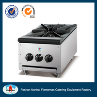 Stainless steel body butterfly gas stove