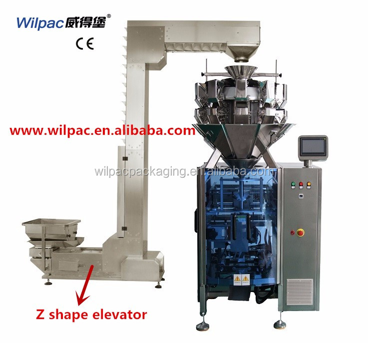 Single servo economical and automatic vacuum pumping chicken leg packing machine with CE and factory direct price