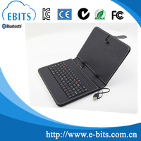 keyboard case for ipad and android tablet customizable size 7 7.85 9.7 10.1 inch