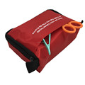 nylon Survival tool /portable first aid bag pouch for outdoor travel office school airport