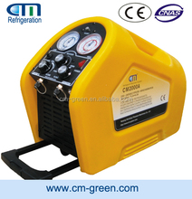 R410a/R22/R407C/R134a Oil less compressor and portable refrigerant recovery/reclaim/vacuum machine CM2000 at factory price