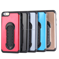 Kick stand case plastic hard case for iphone 6 mobile skins for iphone 6s