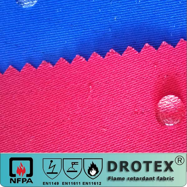 DROTEX mosquito repellent FR oil waterproof fabric for protective uniform