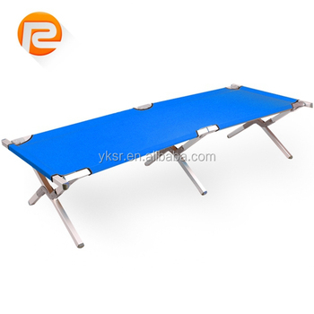 lightweight folding camping bed cot portable Military Metal Beds