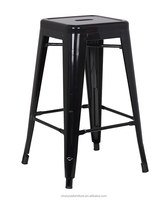 viatage metal stool / dining chair stool /60 inch high stool chair