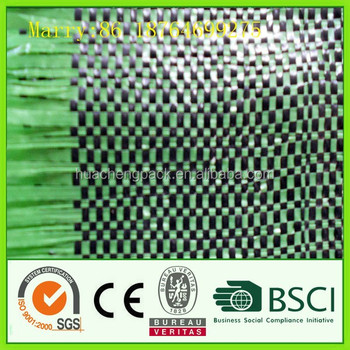 2017 hot pp woven weed mat,ground cover