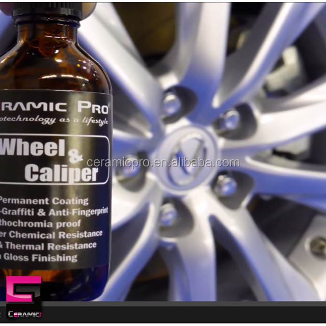 Ceramic Pro Wheel & Caliper Nanoceramic Coating with 9H Hardness
