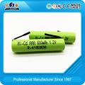 BIS certificate Ni-CD rechargeable battery AAA 600mAh 1.2v