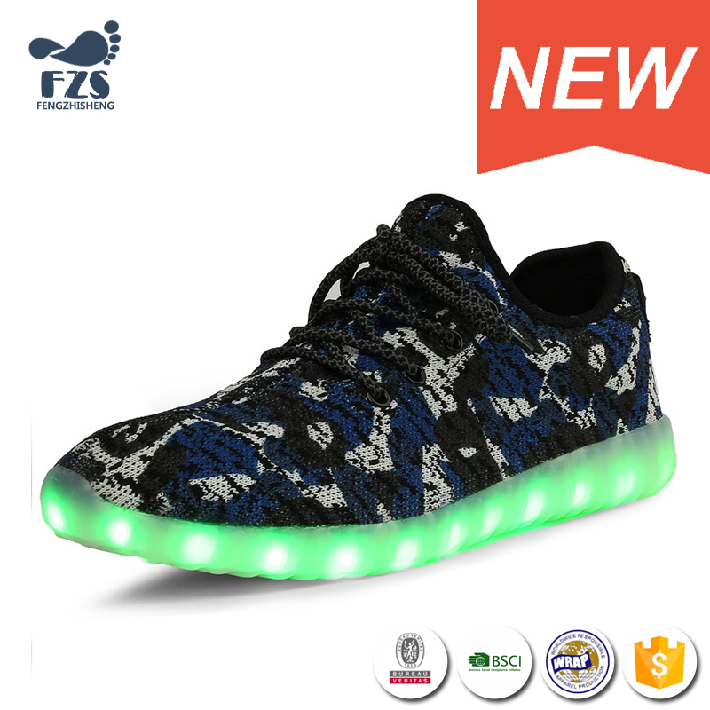 HFJH153 Camouflage Lace up light up