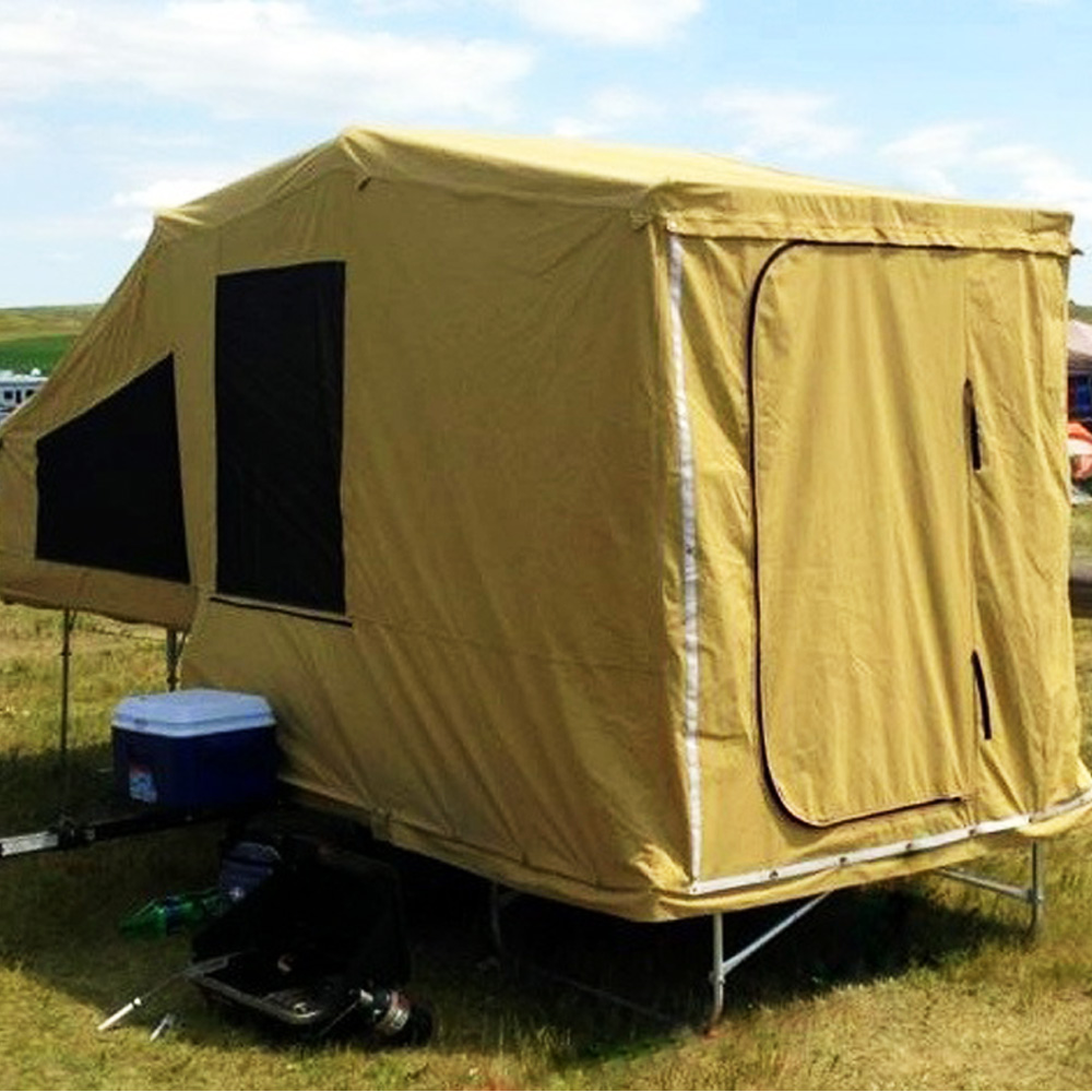 moto tente remorque pour camping en plein air id de. Black Bedroom Furniture Sets. Home Design Ideas