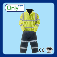 High visibility OEM reflective safety cycling waterproof windproof jacket