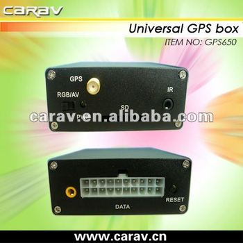 Support WIN CE 6.0 Universal car GPS navigation box