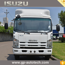 2017 hot new products ISUZU brand chassis with single and double cab cargo van truck Food stake for Euro IV