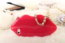 FL419 TPU roaring flame lip case with chaining for iphone 5s