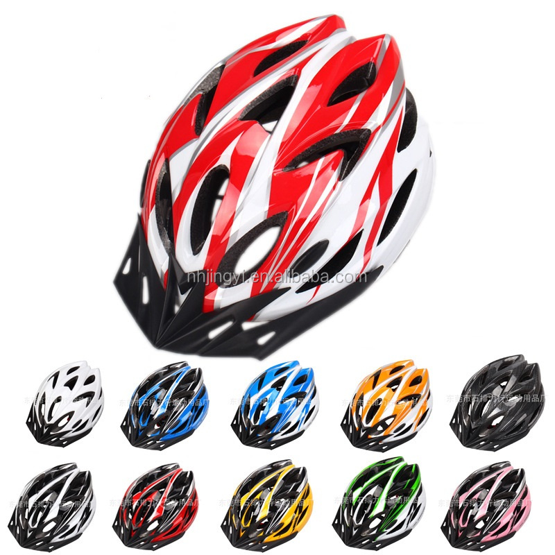custom cycling bicycle women men adult colorful bicycle helmets