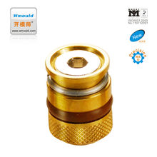 mould parts CUMSI Brass mold cooling components cooling pipe plug