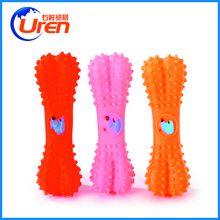 hot selling dog chow pet toys TPR dog toys vinyl squeaky bone