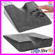 F092 Wheelchair Seat Cushion Heated Pillow Coccyx Wedge Memory Foam Heated Wheelchair Cushion