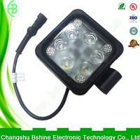 Factory production of industrial use leds