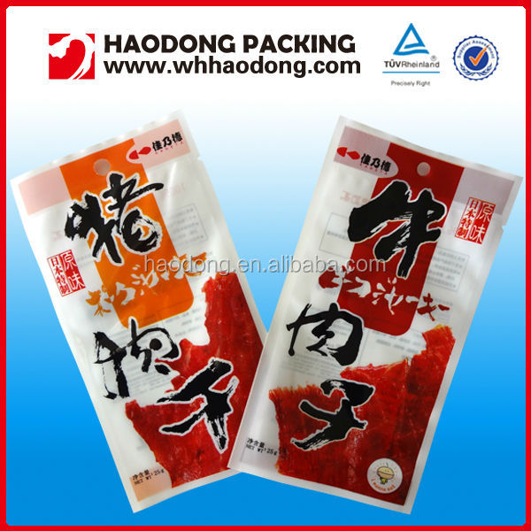 Food Safe Plastic Custom Printed Vacuum Bags