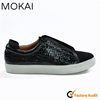 J001-MK10 BLACK real leather comfortable soft sole footwear men's leisure casual shoes
