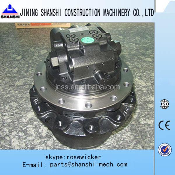 Mini excavator track parts vio75 hydraulic travel motor for Hydraulic track drive motor