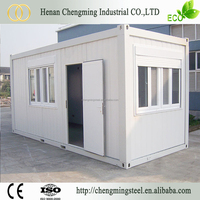 Metal Frame Solid Prefabricated Korea Low Cost Container House