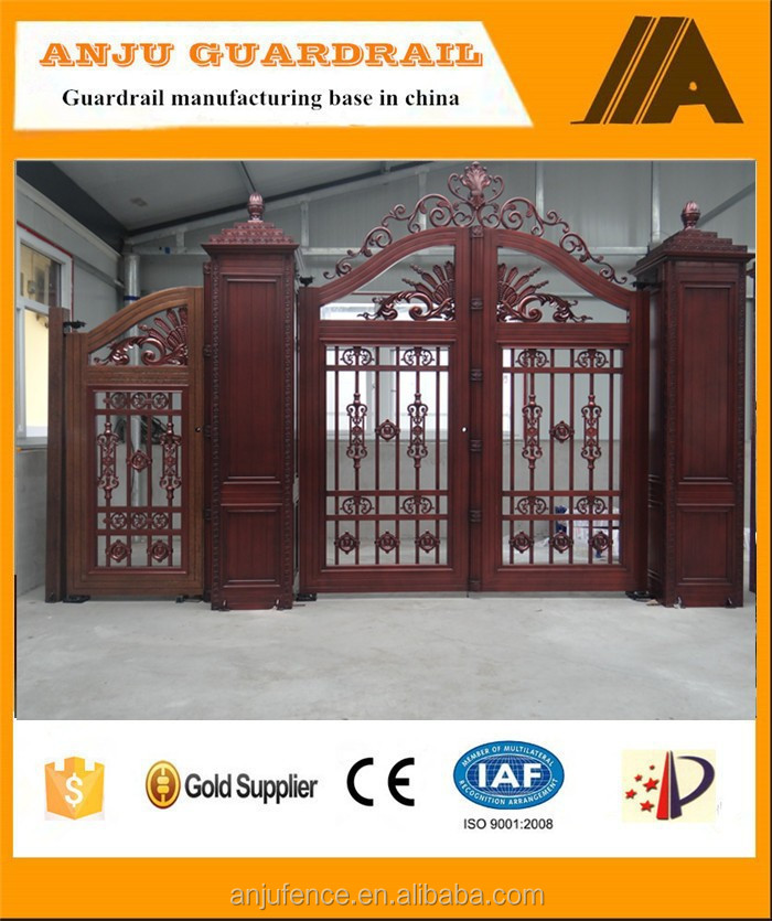 China honest factory of decorative aluminum garden gates AJLY-610