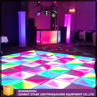 Ip22 Multi Color 30 Channels Sound-Activated Control Light Up Led Disco Night Club Dance Floor