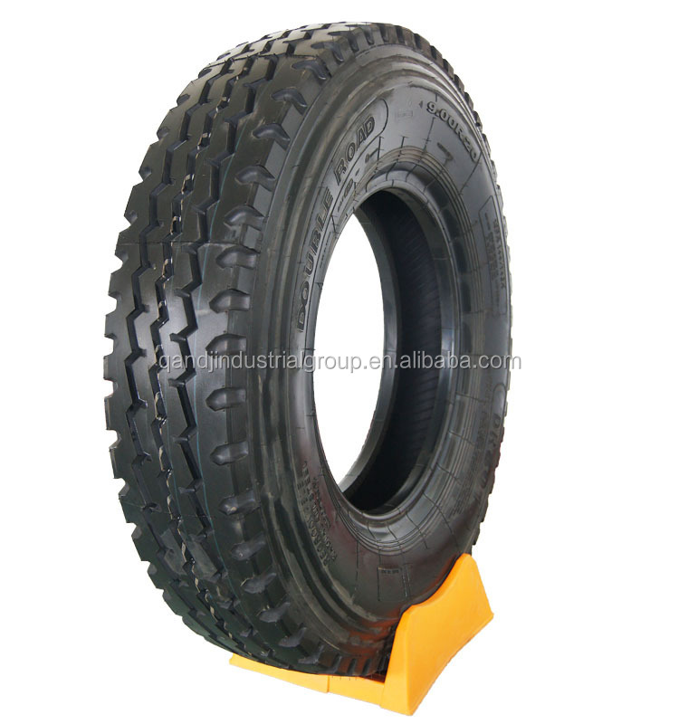 radial truck tires 9.00r20 10.00r20 11.00r20 12.00r20 DOUBLE ROAD brand truck tires import from China