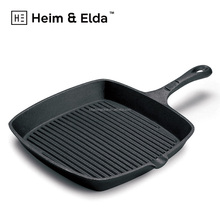 Chinese Square Die Casting Bbq Nonstick Griddle Non-stick Sided Pancake Dessini Egg Wok Double Copper Cast Iron Grill Cook Pan