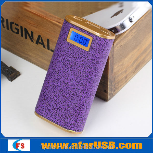 5200mAh portable mobile power bank,mobile charger for Blackberry