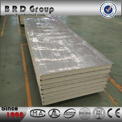 BRD good price pu sandwich panel insulation wall board