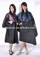 2011 new fasion silk cape for hairdressers hair silk cloak