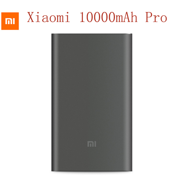 New Arrival Original Xiaomi Power Bank 10000mAh Pro Two-way Quick Charger USB Type-C 12V/9V/5V 2A
