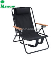 selling cheapest folding metal backpack beach chair