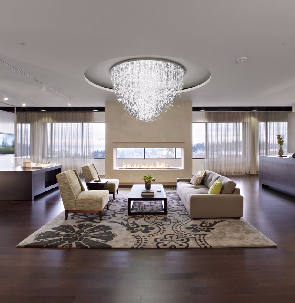 Customized Elegant Optic Fibre Chandelier Light Designs for Home and Hotel