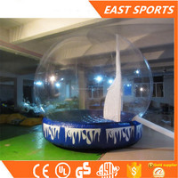 Promotional price!!!PVC Christmas Show Tent Inflatable Snow Sphere Globe ,snow globe inflatable for sale