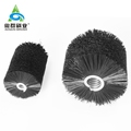 Buffing leather hides or Debris Removal Rotary and Coil Brushes