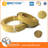 flexible asbestos free agricultural industrial brake band