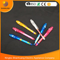 Novelty gift promotion invisible pen Invisible ink pen with uv light