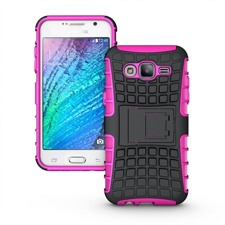 Stand Rugged Hybrid 2015 Shockproof Skin Covers for Samsung Galaxy S2 T989