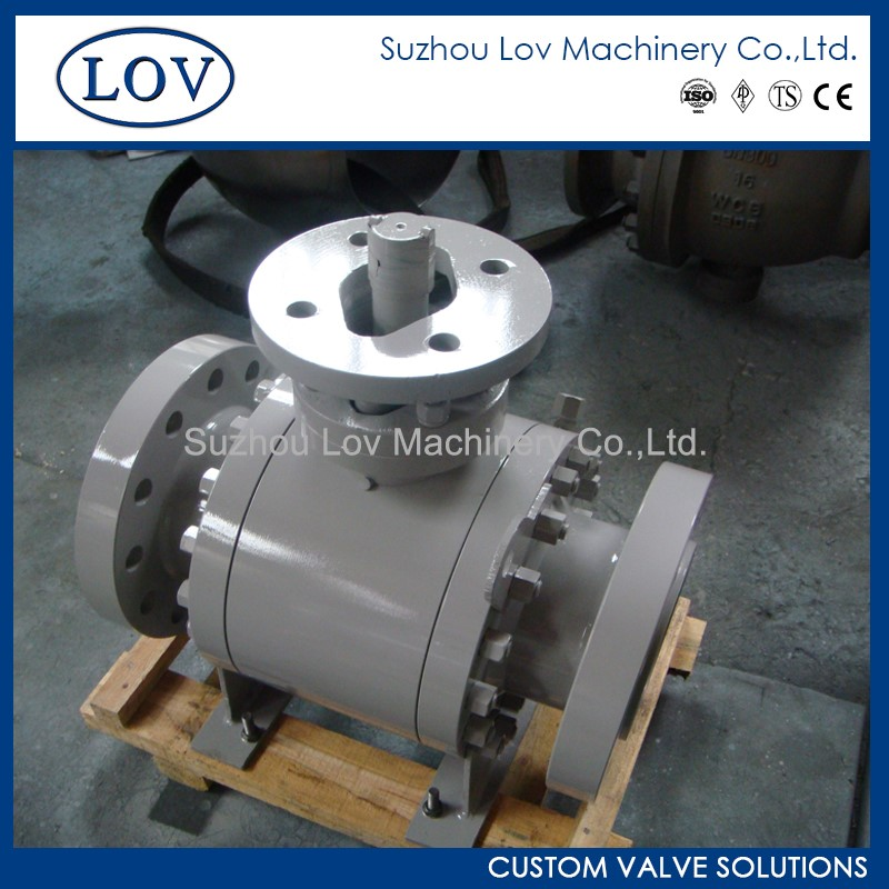 High Quality Control Manual Trunnion Ball Valve dn20